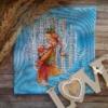 """""""Лесная принцесса"""". Вышила Екатерина Ермакова. Авторские схемы для вышивки крестом - Александры Кулаковой"""